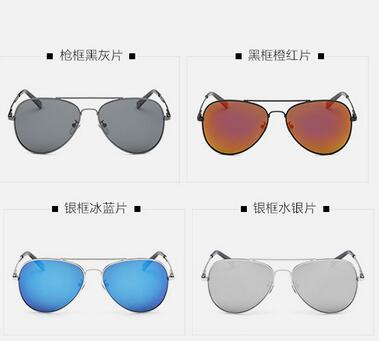 The New Men's Polarized Sunglasses Classic Frog Mirror Sunglasses Driving Glasses